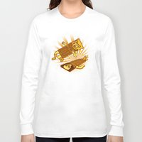 doors Long Sleeve T-shirts featuring Lucha Doors!  by Charity Ryan