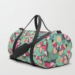 Butterfly pattern 001 Duffle Bag