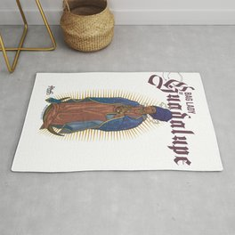 Bag Lady of Guadalupe Rug