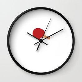 I've got Table Tennis Skills Indoor Sports T-Shirt Wall Clock