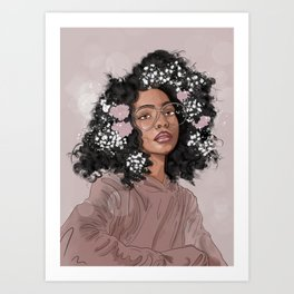 Blossom Beauty Art Print