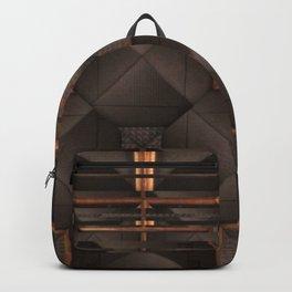no. 270 black tan white gray Backpack