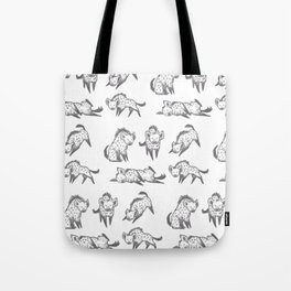Hyena Party Tote Bag