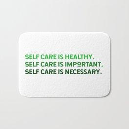 Self Care is Healthy Bath Mat