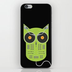 Owlbum Mixer iPhone & iPod Skin