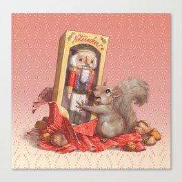Nutcracker Squirrel Canvas Print