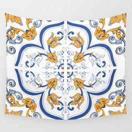 Azulejo Portugues 2 Wall Tapestry