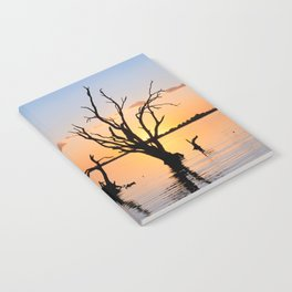 Sunset Silhouette Notebook