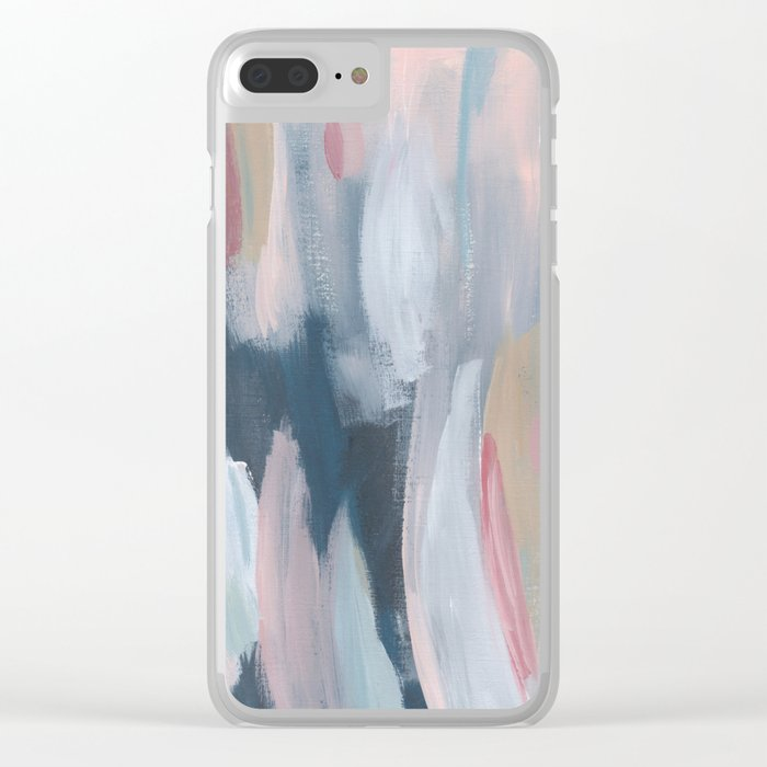 Oyster's Pearl Clear iPhone Case