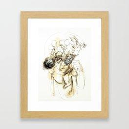 Tristan Corbière, Thick Black Trace, Petit mort pour rire Framed Art Print