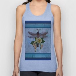Dragonfly Love by Kathy Morton Stanion Unisex Tank Top