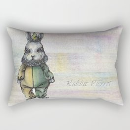Rabbit Pierrot Rectangular Pillow