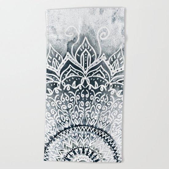 MINA MANDALA Beach Towel