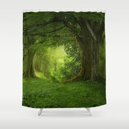 Forst Shower Curtain