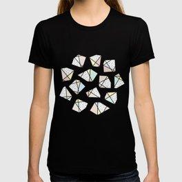 Polygonal stones and gemstones T-shirt
