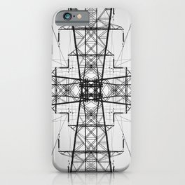 Tower Symmetry iPhone Case