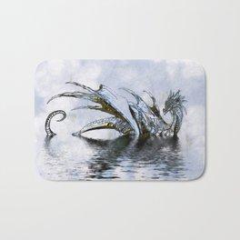 Blue Dragon Bath Mat