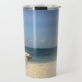 Isla Mujeres Boat Travel Mug