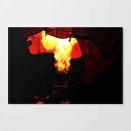 A baloon of fire Canvas Print