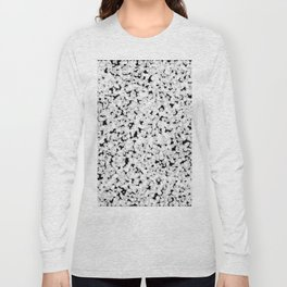 Black and white bubble sponge texture Long Sleeve T-shirt