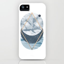Cosmos art print iPhone Case