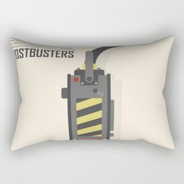 Ghostbusters poster, BIll Murray, Peter Venkman, Harold Ramis, Ghost trap, Ivan Reitman, alternative film print Rectangular Pillow