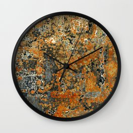 Rust 300 Wall Clock