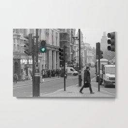 London Crossing Metal Print