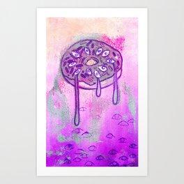 Donut Series 4 Art Print