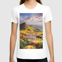 the mountains are calling T-shirts featuring Mountains Are Calling Travel Adventure by Rainbow Rules