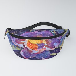 Lotus Mosaic Fanny Pack