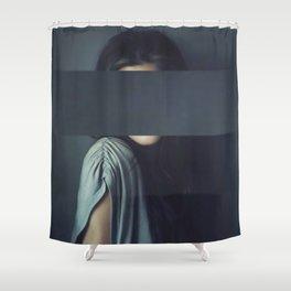 Mystery Girl Shower Curtain