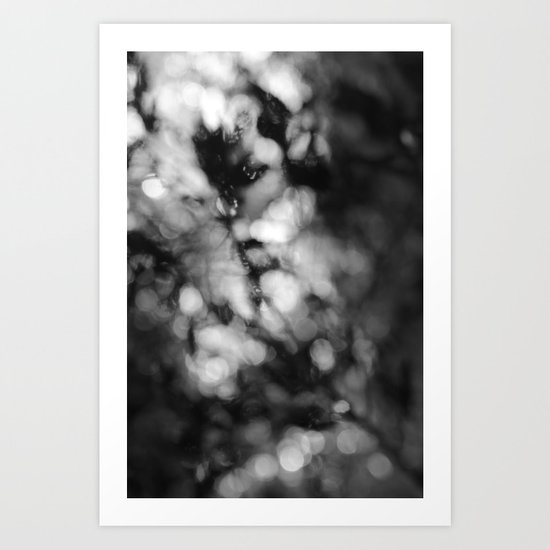 Faded Streams  Art Print