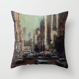 Life's Just a Cocktail Party on the Street Throw Pillow