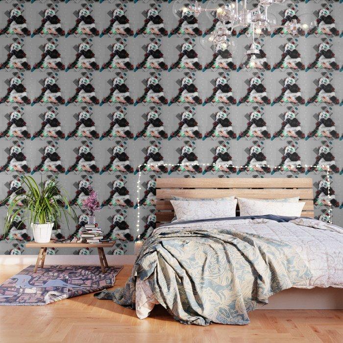 Cute Colorful Collage Panda Wallpaper By Simonegatterwe
