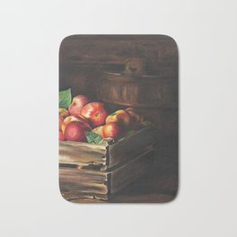 Apple Picking Season Bath Mat