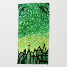 Emerald City Beach Towel