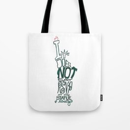 Don't Be Clueless Tote Bag