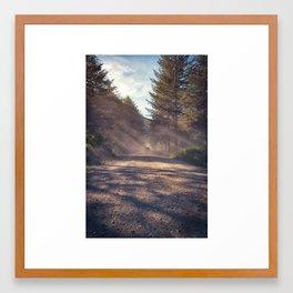Dusty Roads Framed Art Print