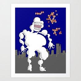 Cloud Friend Art Print