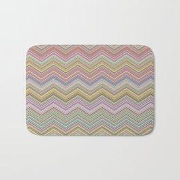 chevron colorful background vintage Bath Mat