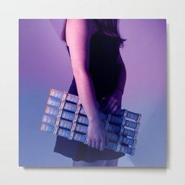 Violet. Blue Metal Print