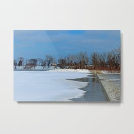 Winter's Appetite Metal Print