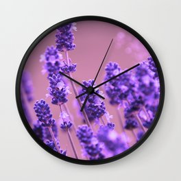 Romantic field Wall Clock