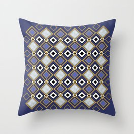 Purple Jade Throw Pillow