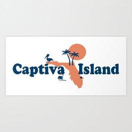 Captiva Island - Florida. Art Print