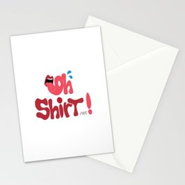 Oh Shirt! Stationery Cards