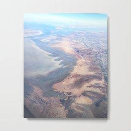 Salt Lake Colors Metal Print