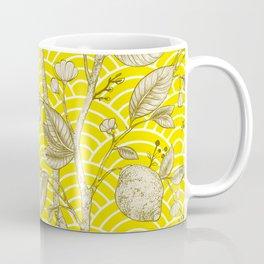 Lemons Pattern (yellow) Coffee Mug