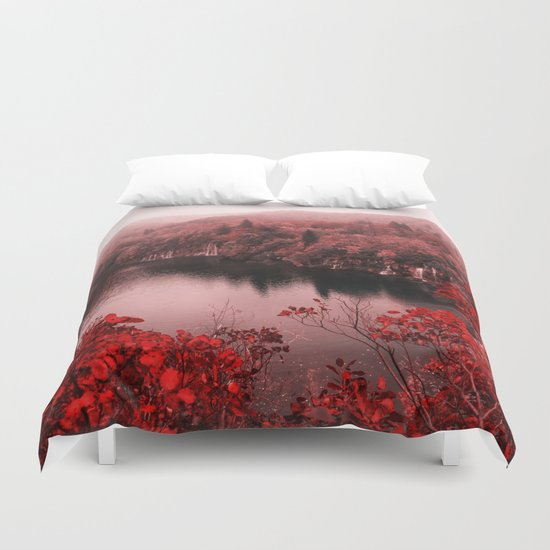 Great Nature,Autumn  Duvet Cover